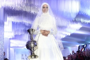 Как прошел показ коллекции дочери Кадырова в «Зарядье»
