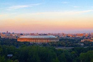 Московское небо в снимках Instagram