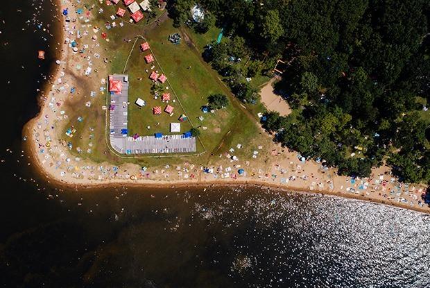 Вид сверху: Пляжи Владивостока