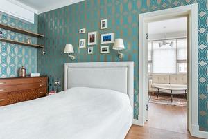 Трёхкомнатная квартира в духе модернизма на «Октябрьском поле»