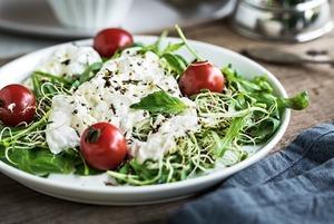 3 рецепта салатов на осень — два простых и один сложный