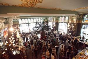 Фоторепортаж: Открытие отреставрированного «Елисеевского магазина»