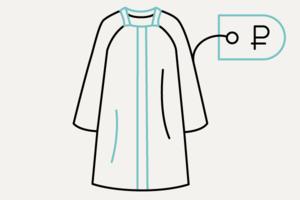 Самое дешёвое и самое дорогое пальто в магазине Trends Brands