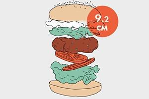 Между булок: Что внутри у самых больших московских бургеров, часть 2