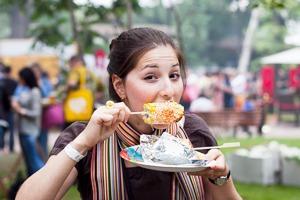 Люди в городе: Посетители фестиваля «Праздник Еды»