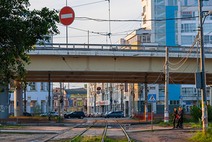 Маршрут от железнодорожного вокзала до стадиона через Старое Канавино / Route from Railroad Station to Stadium through Old Kanavino Area
