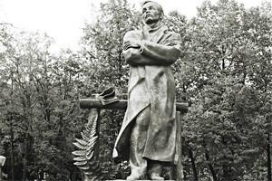 По местам: Памятник Янке Купале