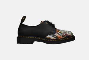 Ботинки Dr. Martens с работами Жан-Мишеля Баския