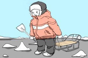 Есть вопрос: «Куда увозят снег с московских улиц?»