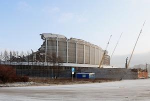 RIP СКК: Крыша комплекса «Петербургский» рухнула при демонтаже
