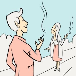 Приятное с полезным: Как в барах «Дорогая, я перезвоню..,» запретили курить