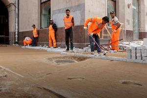 Её раскопали: Пешеходные улицы Москвы за месяц до открытия