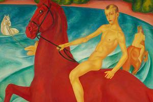 «Купание красного коня» в Музее ИЗО, выставка Сергея Шнурова и второй городской митап для дизайнеров
