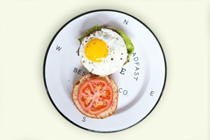 Завтраки дома: Утренний бургер из кафе The Burger Brothers