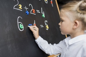 На раз, два, три: Как научить дошкольника считать