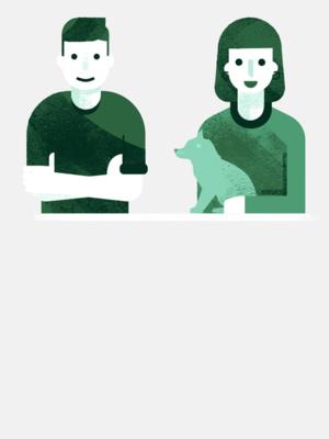 На что живет молодая пара