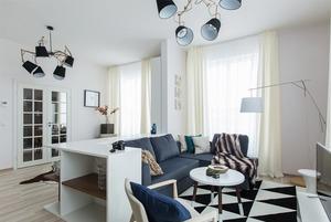 Светлые апартаменты в индустриальном районе