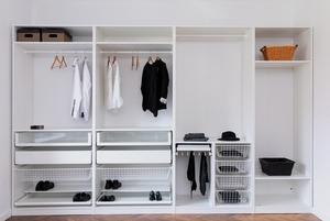 Где и как хранить вещи, если в квартире мало места