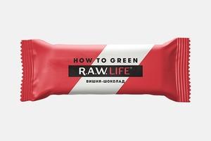 Новогодние батончики R.A.W Life & How To Green