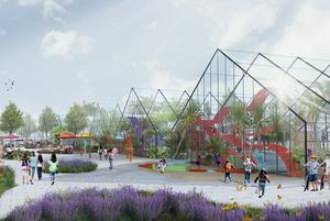 Как будет выглядеть общественное пространство рядом с Таврическим садом