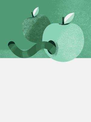 Правда ли, что червивые яблоки натуральнее обычных?