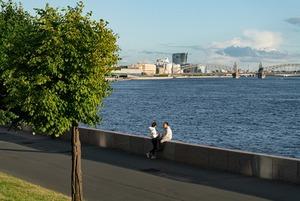 От бизнес-парка «Полюстрово» до самого красивого моста Петербурга
