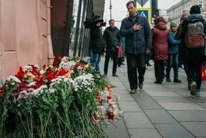 Сенная площадь и «Техноложка» через сутки после теракта