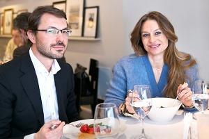 Анастасия и Сергей Рябцовы о ресторане Vogue Cafe
