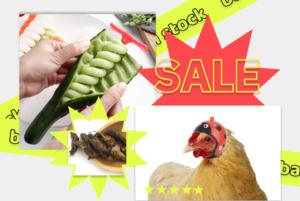 Шлем для курицы и сушеные жуки: Почему AliExpress предлагает нам странные товары