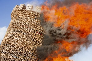 Как в Николе-Ленивце сожгли Бастилию