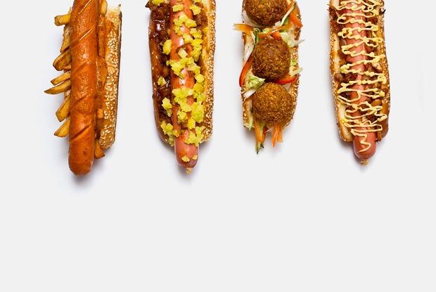 6 необычных хот-догов
