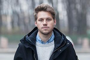 Внешний вид (Петербург): Илья Вахошкин, сотрудник магазина Mint