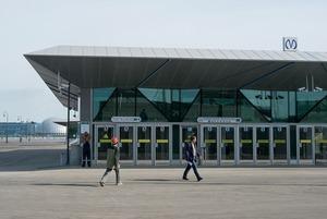 Как выглядят новые станции метро «Новокрестовская» и «Беговая»