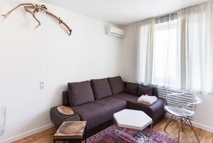 Современная квартира с отсылками к советскому прошлому