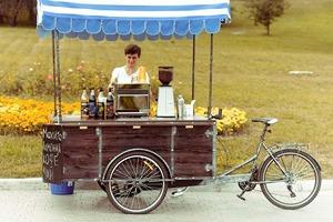 Личный опыт: Как превратить велосипед в кофейню на колесах