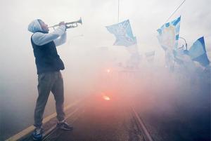 Как Петербург праздновал победу «Зенита» в чемпионате России