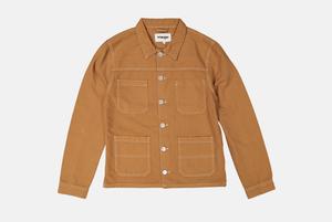 Рабочая куртка из плотного денима Wrangler
