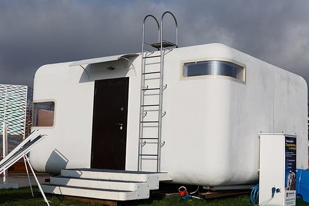 Дом-конструктор «Алеут» во Владивостоке