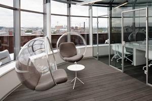 Офис Iridato Group с террасой