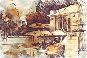 Клуб рисовальщиков: Патриаршие пруды