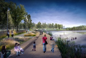 Как будет выглядеть парк у Капотни по проекту Wowhaus