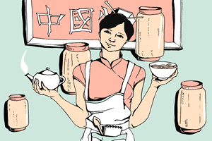 Есть вопрос: «Как не говорящие по-русски китайцы открывают кафе?»