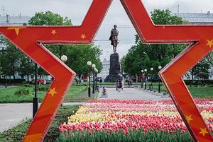 Маршрут от площади Горького до площади Минина и Пожарского / Route from Gorky Square to Minin Square