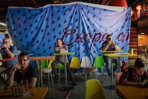 Фуд-корт «Подсолнухи»: Поесть и выпить с постиронией