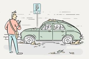 Что происходит с машинами, забытыми на платной парковке?