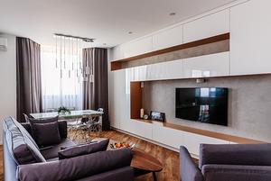 Просторная квартира в Краснодаре для семьи с двумя детьми
