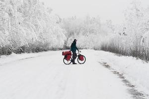 Как и зачем ехать в зимнее велопутешествие