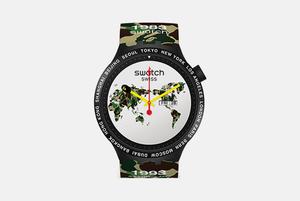 Коллаборация Swatch x Bape