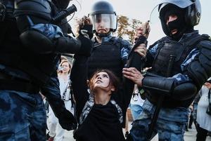 Игра в догонялки: Итоги митинга за свободные выборы с 1 373 задержанными