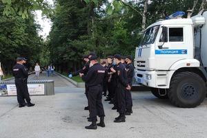 Сколько полицейских можно встретить в пятницу на «Китай-городе»